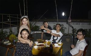 芦茨湾游客,杭州农家乐烧烤活动